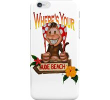 Spanx The Monkey iPhone Case/Skin
