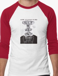 Mr. Robot End of the World Party Tee Men's Baseball ¾ T-Shirt