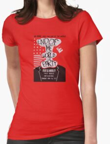 Mr. Robot End of the World Party Tee Womens Fitted T-Shirt