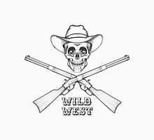 The Skull with rifles Unisex T-Shirt