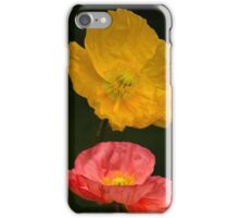 3 poppies iPhone Case/Skin