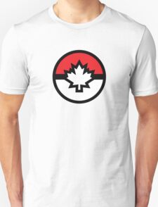 Canada Pokemon Logo Pokeball Unisex T-Shirt