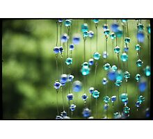 Zen Beads Photographic Print