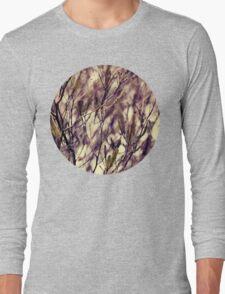 Patterns in my Winter Garden Long Sleeve T-Shirt