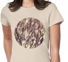 Patterns in my Winter Garden Womens Fitted T-Shirt