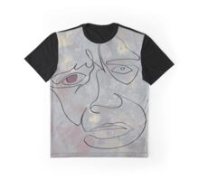 squigglehead  with red eye - drawing Graphic T-Shirt
