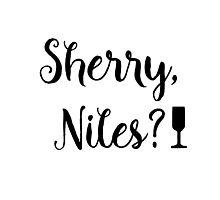 Frasier - Sherry, Niles? Photographic Print