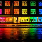 Colours on a Wet Night by jamjarphotos
