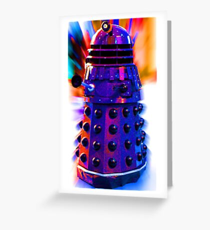 The Dalek Greeting Card