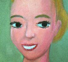 Evita Perón by Diego Manuel Sticker
