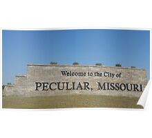 Greetings from Peculiar Missouri Poster