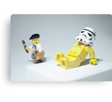 Lego Modern Art Canvas Print