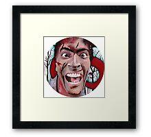 Evil Dead Ash Framed Print