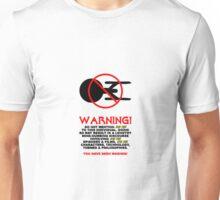 Med Trekky Warning Unisex T-Shirt