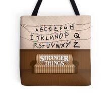 Stranger Things Lights Tote Bag