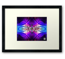 Moon Lab Framed Print