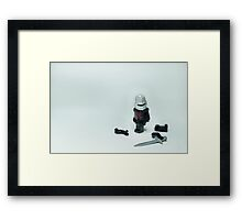 Monty Python Black Knight Framed Print
