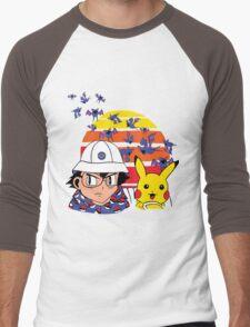 Zubat Country Men's Baseball ¾ T-Shirt