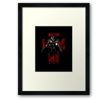 Death is Second Chance Framed Print