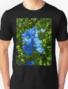 Delphinium Diamond Blue Unisex T-Shirt