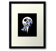 Death has a Child Framed Print