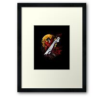 More than Blood and Guns Framed Print