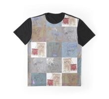 multi squiggleheads - drawing Graphic T-Shirt