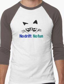 No drift No fun (2) Men's Baseball ¾ T-Shirt