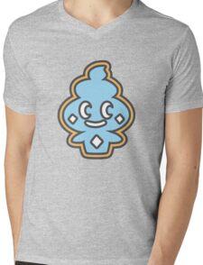 Tierno's Vanillite Print Mens V-Neck T-Shirt