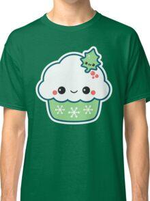 Green Christmas Cupcake Classic T-Shirt