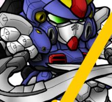 Quatre Raberba Winner and Gundam Sandrock - Chibilette Sticker