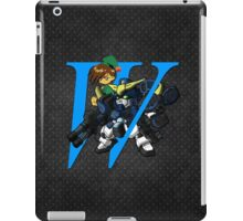Trowa Barton and Gundam Heavyarms - Chibilette iPad Case/Skin