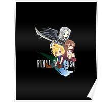 Final Fantasy VII - Chibilette Poster