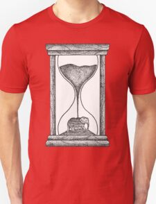 Elephant Hourglass Unisex T-Shirt