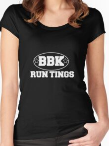 Boy Better Know - Run Tings!! Women's Fitted Scoop T-Shirt