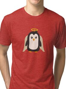 Penguin Angel   Tri-blend T-Shirt