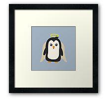 Penguin Angel   Framed Print