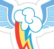 Rainbow Dash Symbol Sticker
