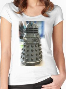 The Dalek Women's Fitted Scoop T-Shirt