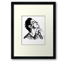 Andrew Scott Scribble Framed Print