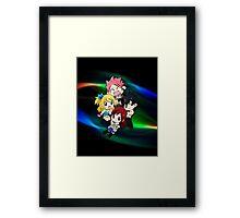 Fairy Tail - Chibilette Framed Print