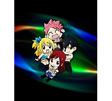 Fairy Tail - Chibilette Photographic Print
