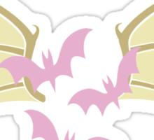 Flutterbat Symbol Sticker