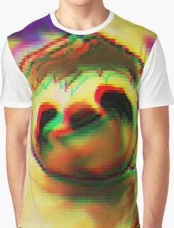 hypno sloth Graphic T-Shirt