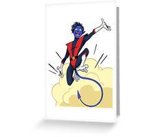 Nightcrawler Greeting Card