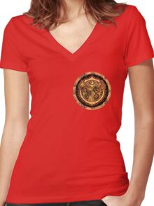 TOMORROWLAND Women's Fitted V-Neck T-Shirt