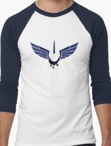 Princess Luna Symbol Men's Baseball ¾ T-Shirt