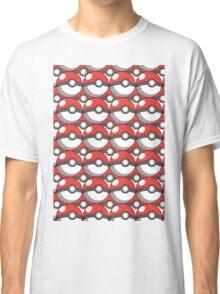 Pokeball Collage Classic T-Shirt