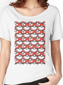 Pokeball Collage Women's Relaxed Fit T-Shirt