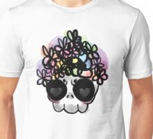 Flower Crown Skull  Unisex T-Shirt